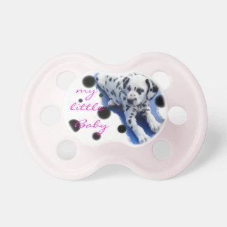 Dalmatian puppy baby dummy pacifier