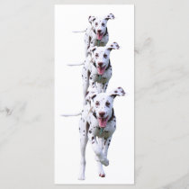 Dalmatian puppy dog bookmark, gift idea