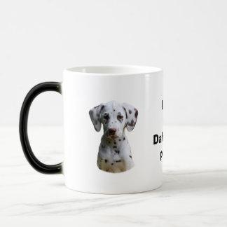 Dalmatian puppy dog photo coffee mugs