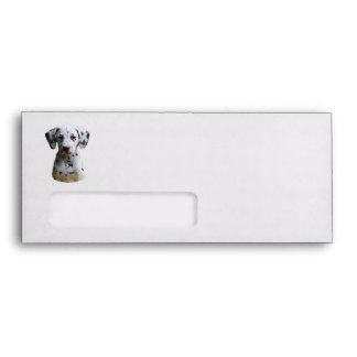 Dalmatian puppy dog photo envelopes