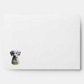 Dalmatian puppy dog photo envelope