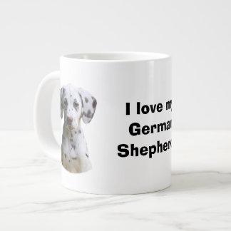 Dalmatian puppy dog photo extra large mugs