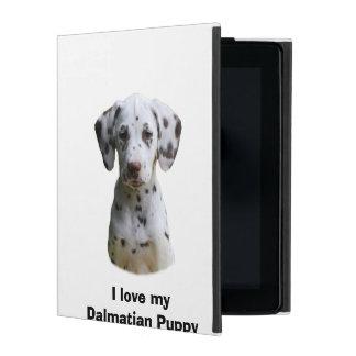 Dalmatian puppy dog photo iPad case