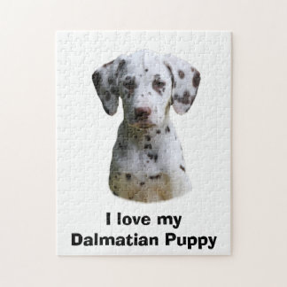 Dalmatian puppy dog photo jigsaw puzzle