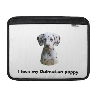 Dalmatian puppy dog photo sleeves for MacBook air
