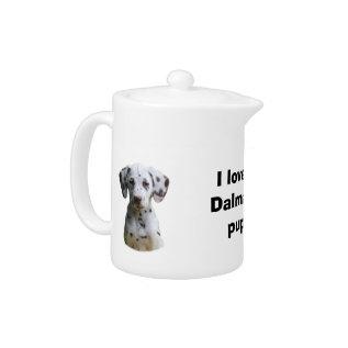 Dalmatian Puppy Dog Photo Teapot at Zazzle
