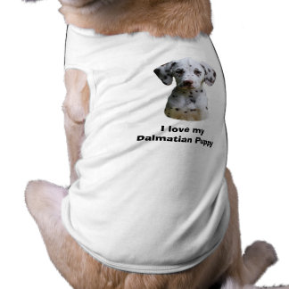 Dalmatian puppy dog photo tee