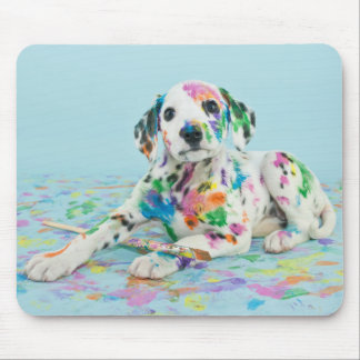 Dalmatian Puppy Mouse Pad