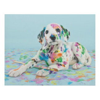 Dalmatian Puppy Panel Wall Art
