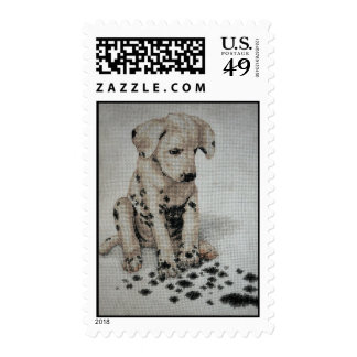 Dalmatian Puppy Postage/Stamp Postage