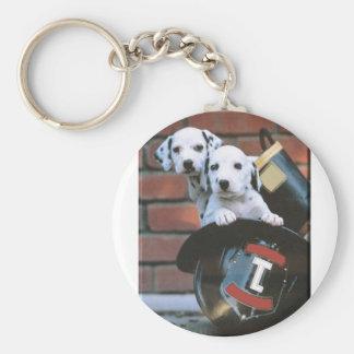 Dalmatian Puppy's Key Chain