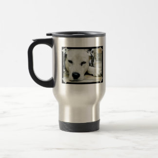 Dalmatian Resting  Travel Mug