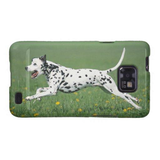 Dalmatian Running Galaxy S2 Cases