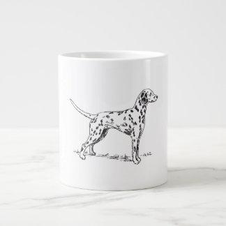 Dalmatian 20 Oz Large Ceramic Coffee Mug