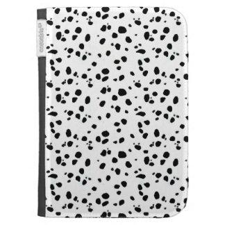 Dalmatian Spots, Dalmatian Print, Dalmatian Fur Kindle Folio Case