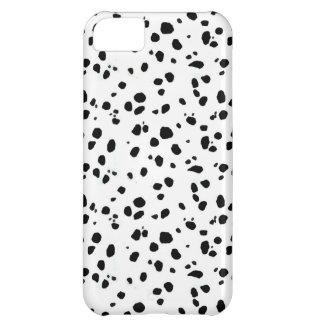 Dalmatian Spots, Dalmatian Print, Dalmatian Fur iPhone 5C Cases