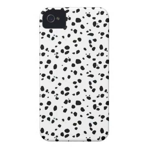 Dalmatian Spots, Dalmatian Print, Dalmatian Fur Case-Mate iPhone 4 Cases