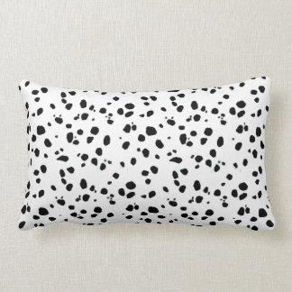 Dalmatian Spots, Dalmatian Print, Dalmatian Fur Throw Pillow