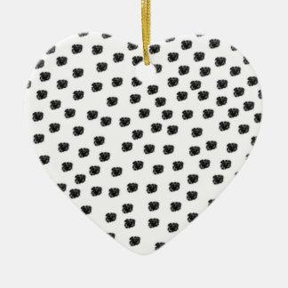 Dalmatian Spots Christmas Tree Ornaments