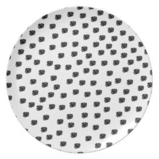 Dalmatian Spots Plates