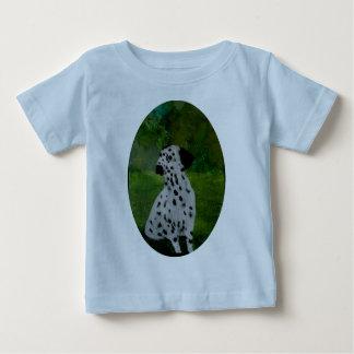 Dalmatian Spotty Dog Art T-shirt
