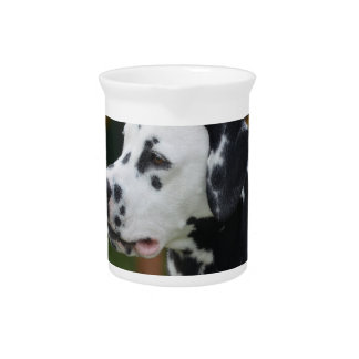 Dalmatian with Spots Drink Pitcher
