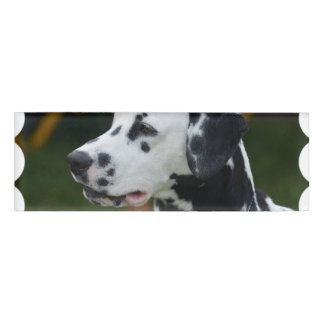 Dalmatian with Spots Name Tag