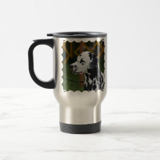 Dalmatian with Spots Travel Mug
