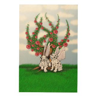 Dalmatian Wood Canvas