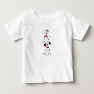 Dalmatians Playing Disney Baby T-Shirt