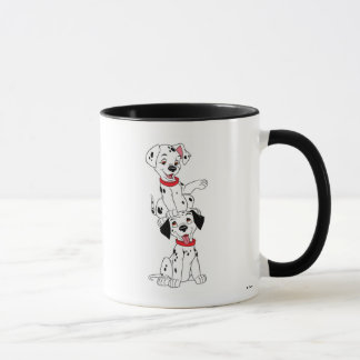 Dalmatians Playing Disney Mug