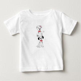 Dalmatians que juegan Disney Playera