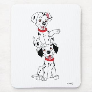 Dalmatians que juegan Disney Alfombrilla De Ratón