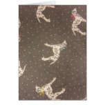 Dalmatians with Bows Cards