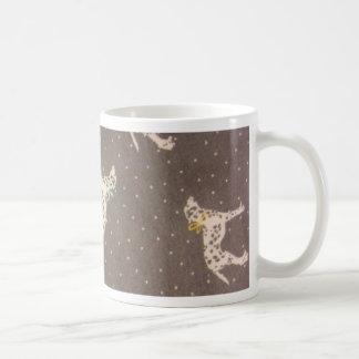 Dalmatians with Bows Coffee Mug