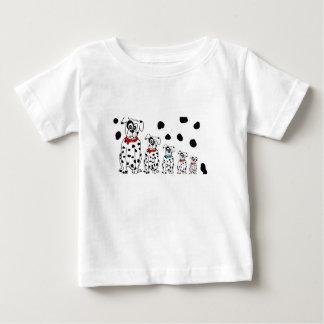 Dalmatiner 3 chica 1 chico t-shirt