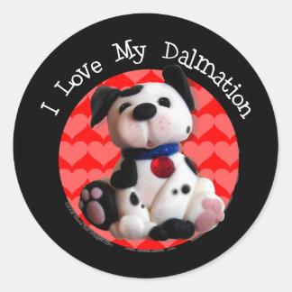 Dalmation Cafe Sticker