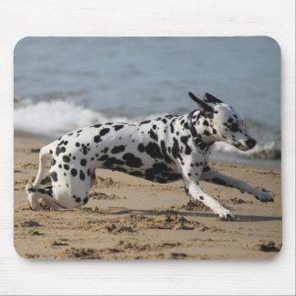 Dalmation Dash Mouse Pad