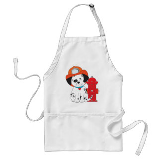 Dalmation Fire Dog Adult Apron