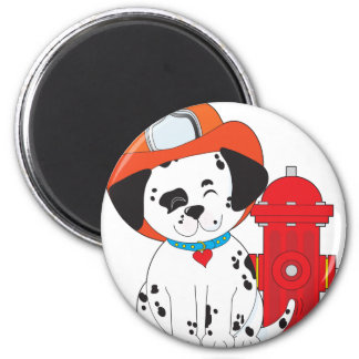 Dalmation Fire Dog Magnet