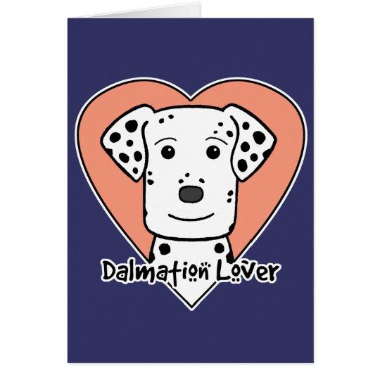 Dalmation Lover Card