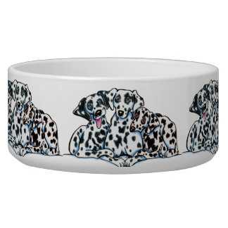 Dalmation Lover Pet Water Bowl
