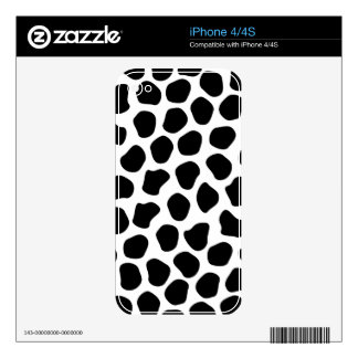 Dalmation Print Decals For The iPhone 4