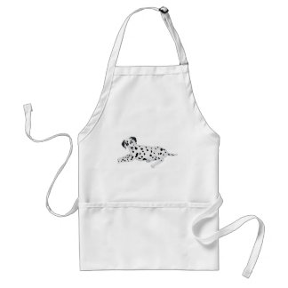 Dalmation Pup Adult Apron