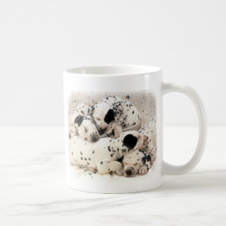 Dalmation Puppies Coffee Mug