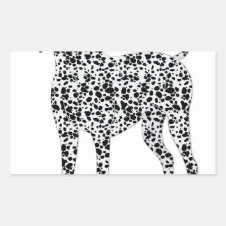 Dalmation Rectangular Sticker