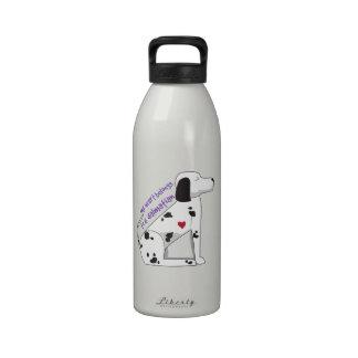 Dalmation Botella De Agua Reutilizable