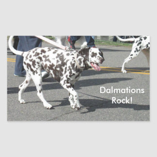 Dalmations Rock Stickers