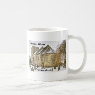 Dalmeny Parish Church Classic White Coffee Mug