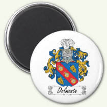 Dalmonte Family Crest Magnet